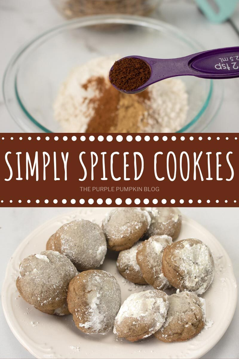 Simply Spiced Cookies