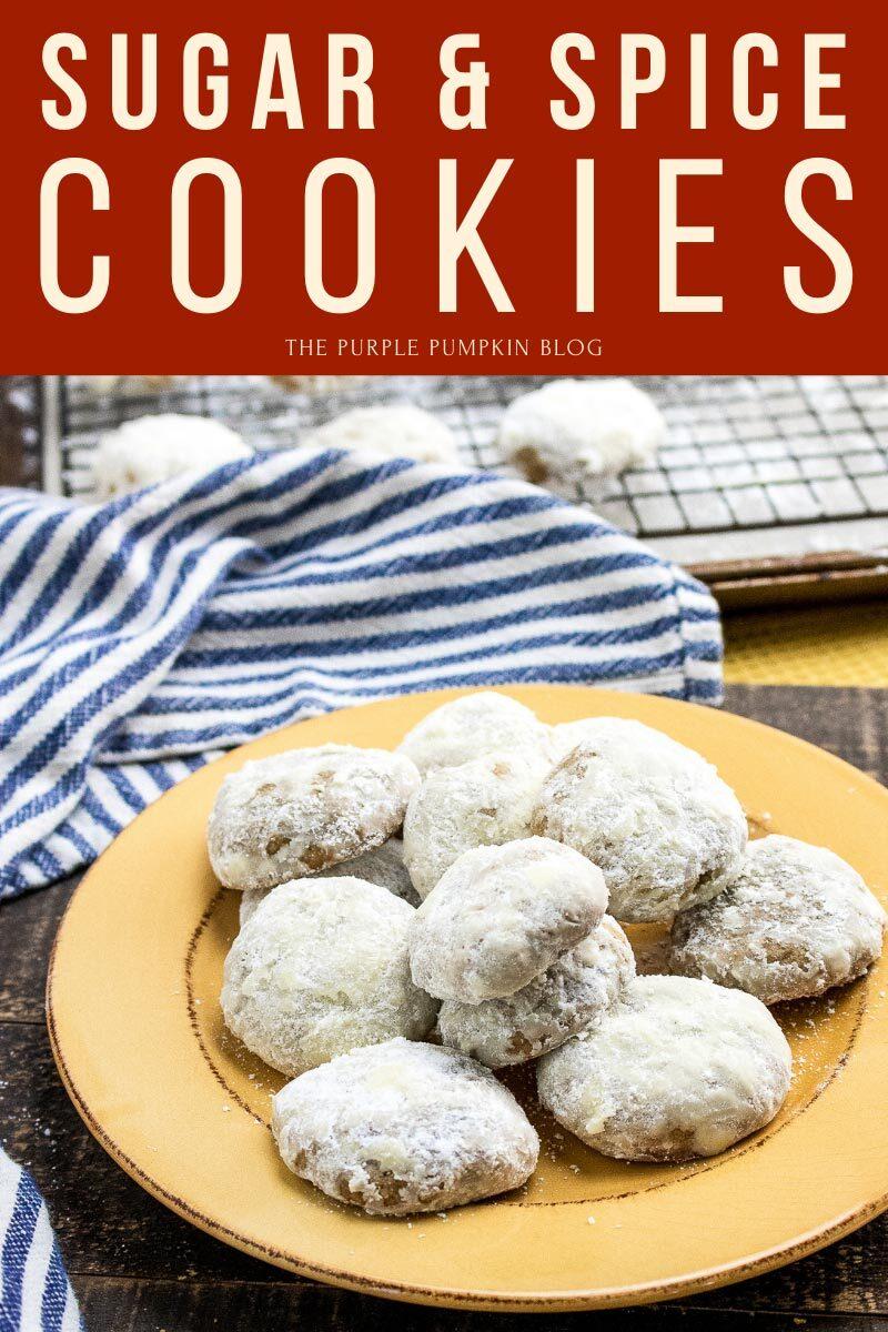 Sugar & Spices Cookies Recipe