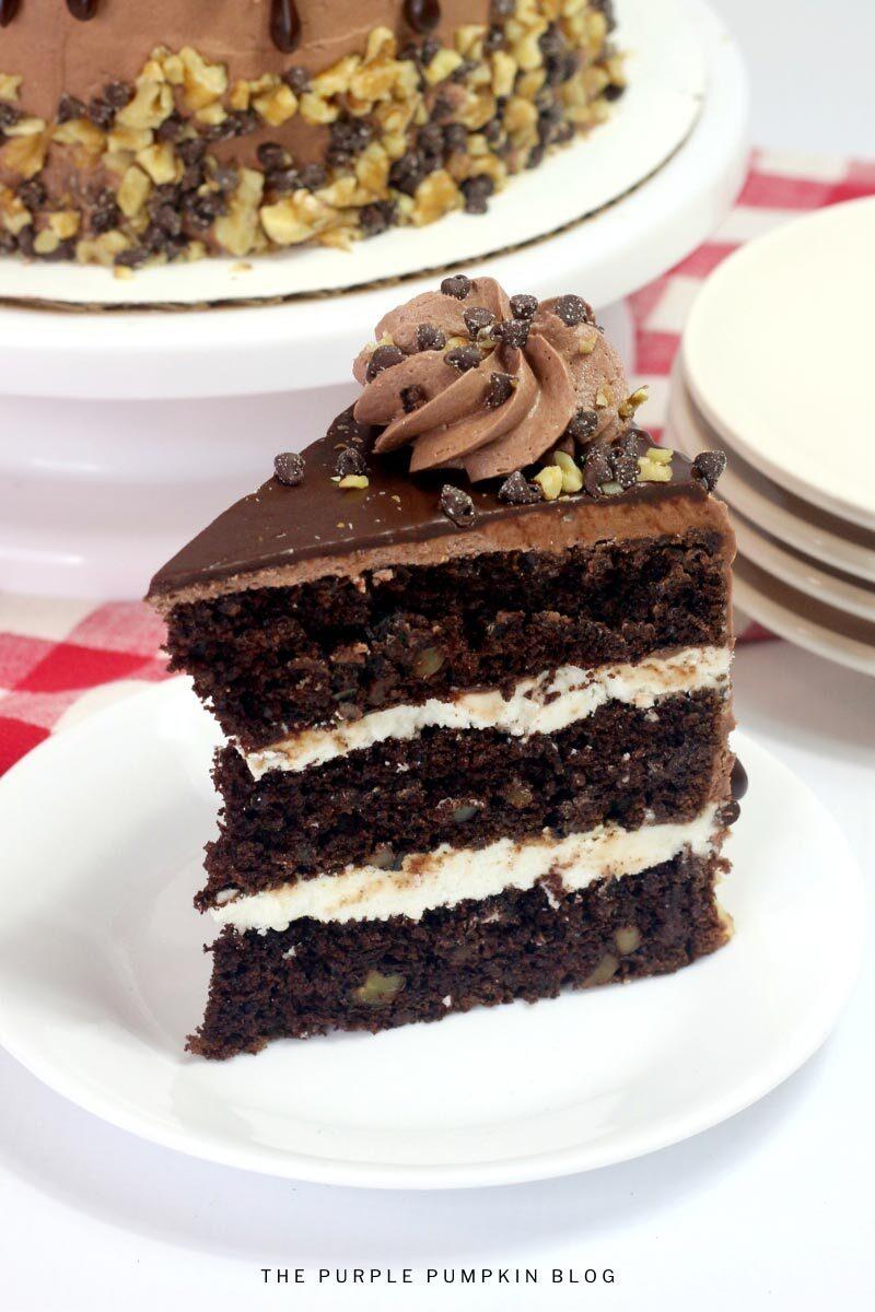 Triple Chocolate Fudge Cake Recipe