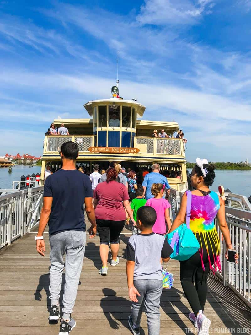 Walt Disney World Admiral Joe Potter Ferryboat