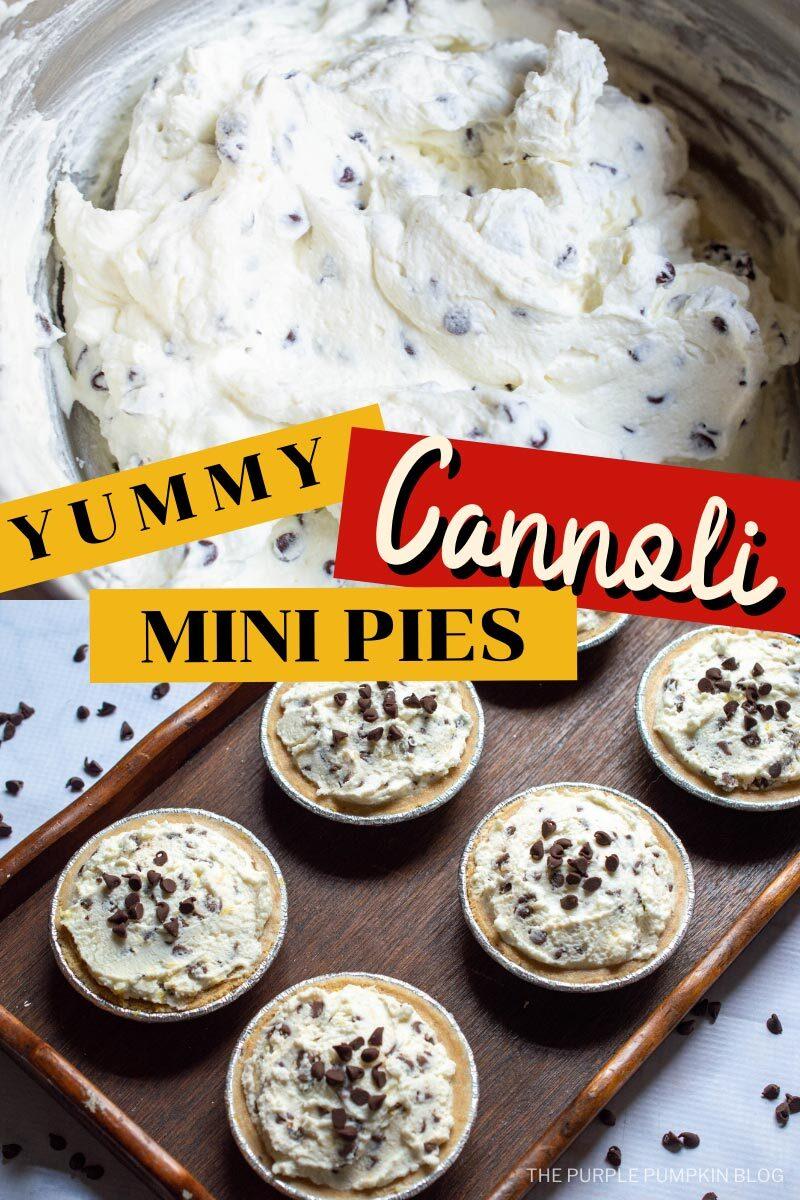 Yummy Cannoli Mini Pies