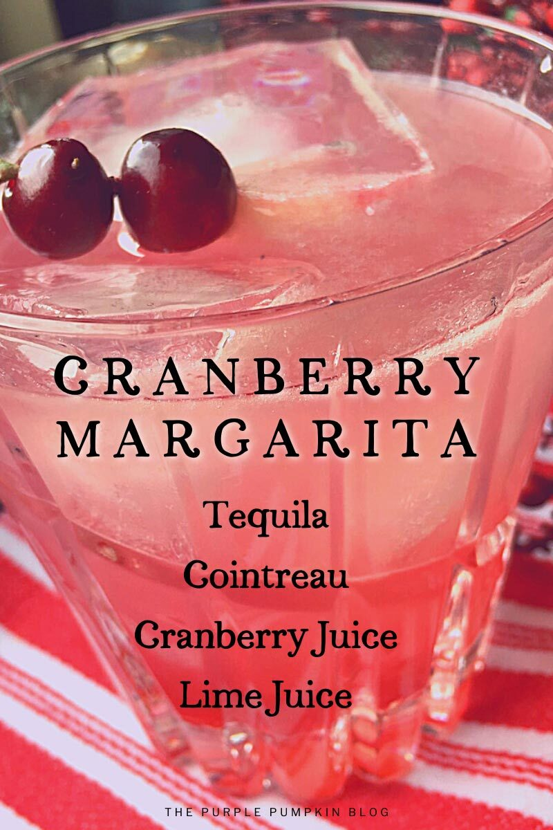 A Cranberry Margarita Cocktail Recipe