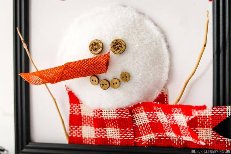 Adding Arms to Snowman