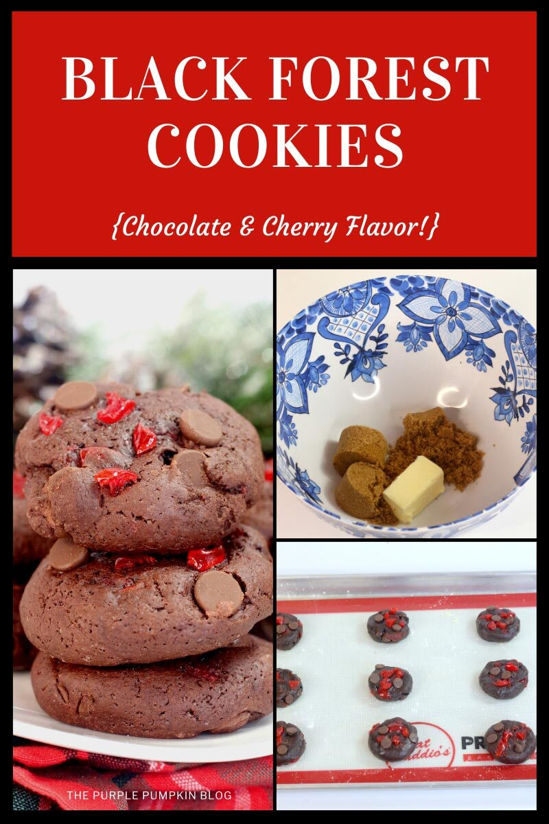 Black Forest Cookies - Chocolate & Cherry Flavor