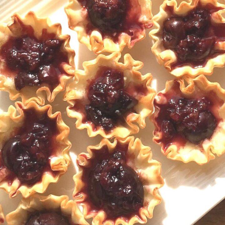 Brie & Cherry Cups Appetizer Recipe
