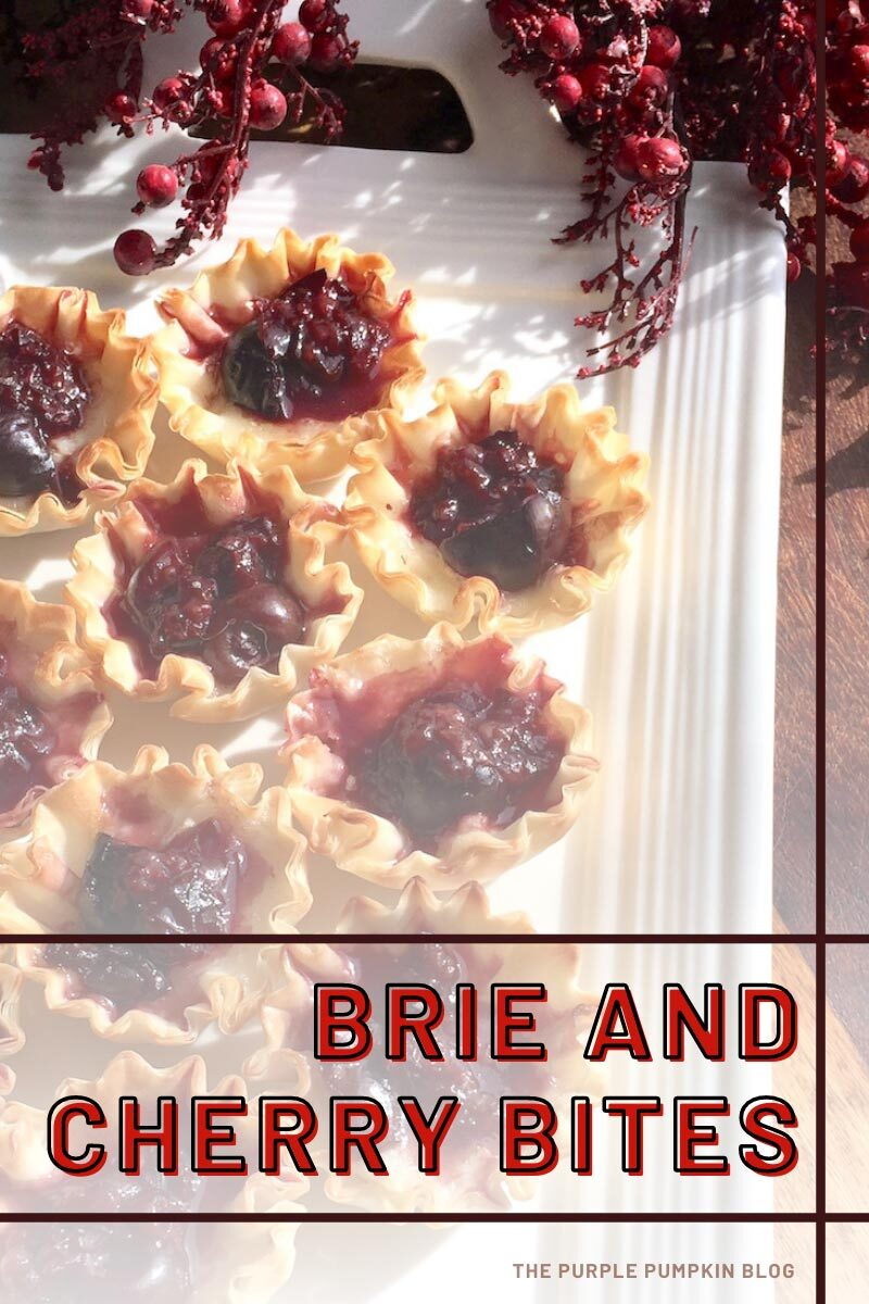 Brie and Cherry Bites