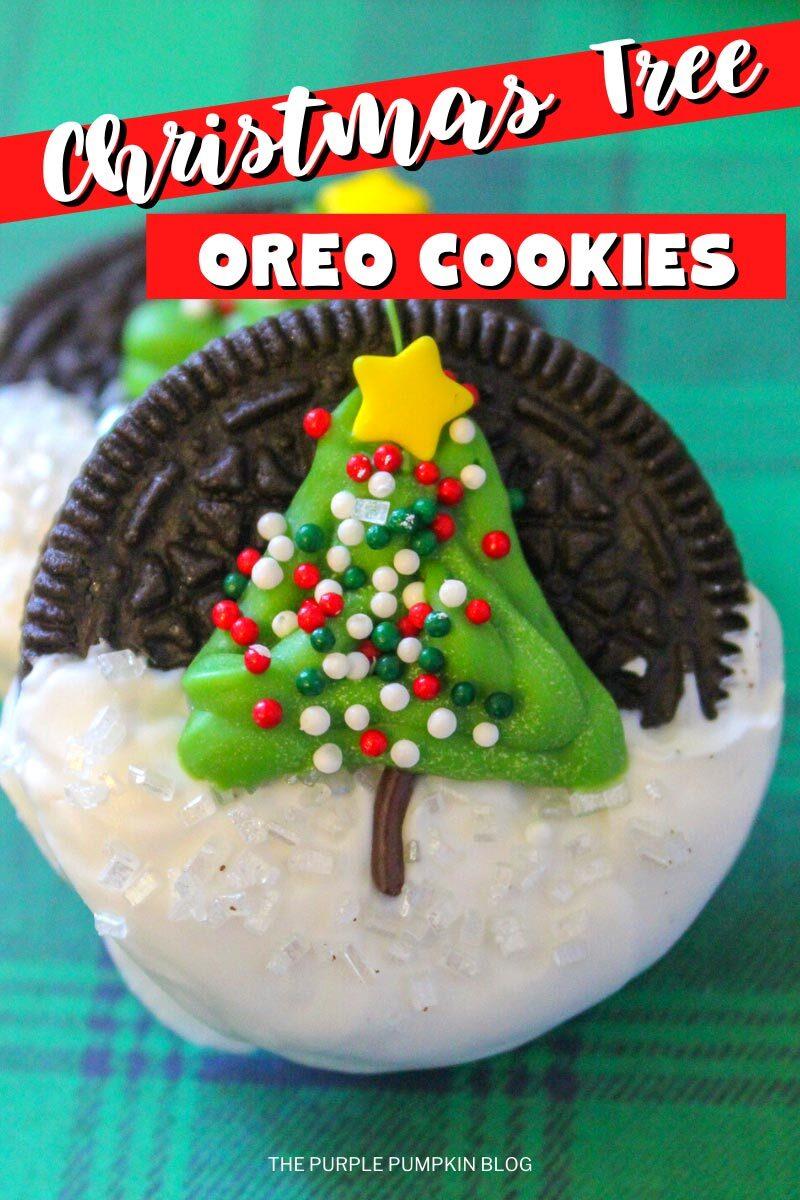 Christmas Tree Oreo Cookies