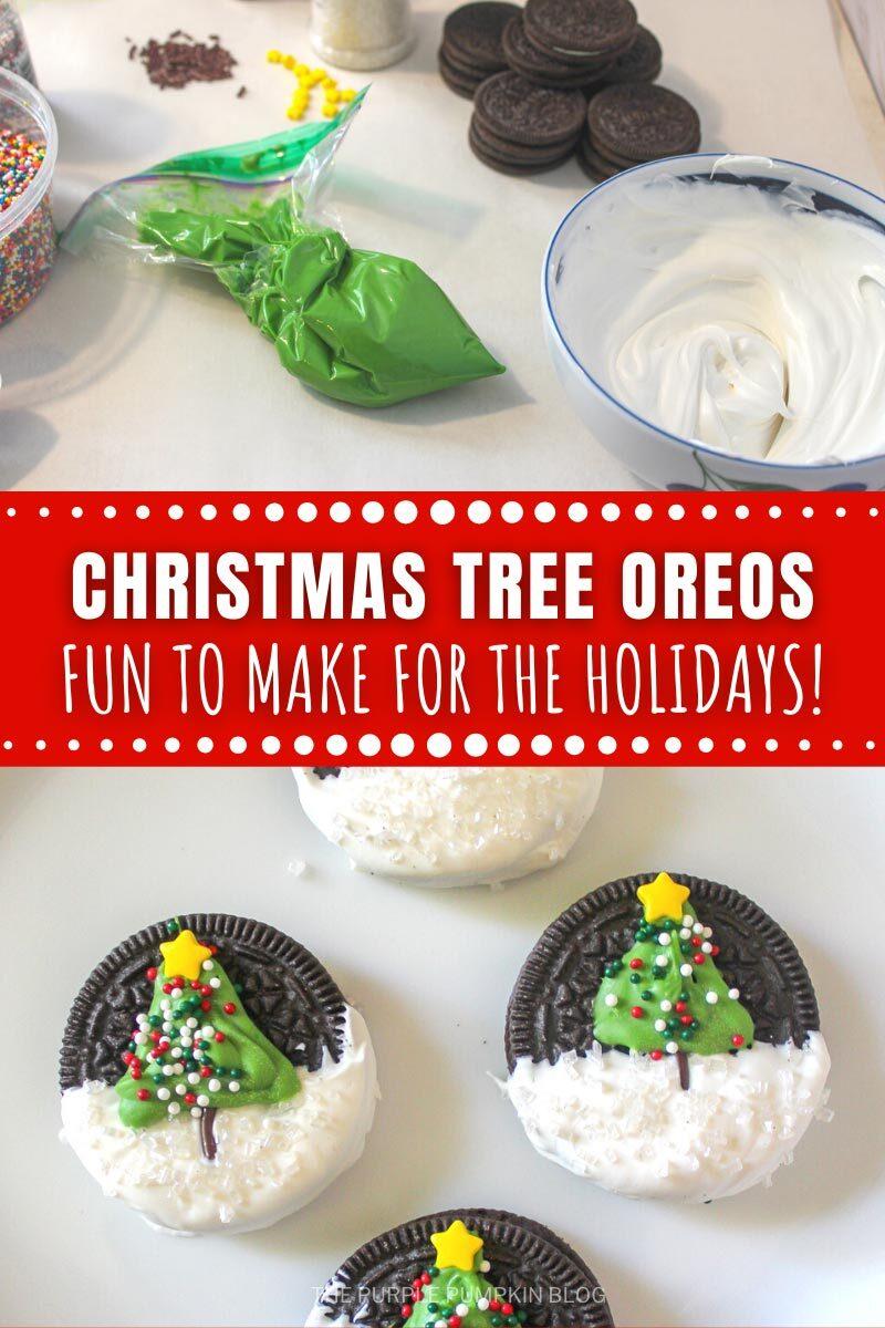Christmas Tree Oreos - Fun to Make for the Holidays