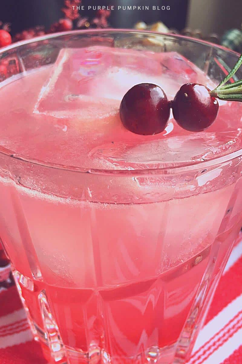 Cranberry Margarita Cocktail Recipe