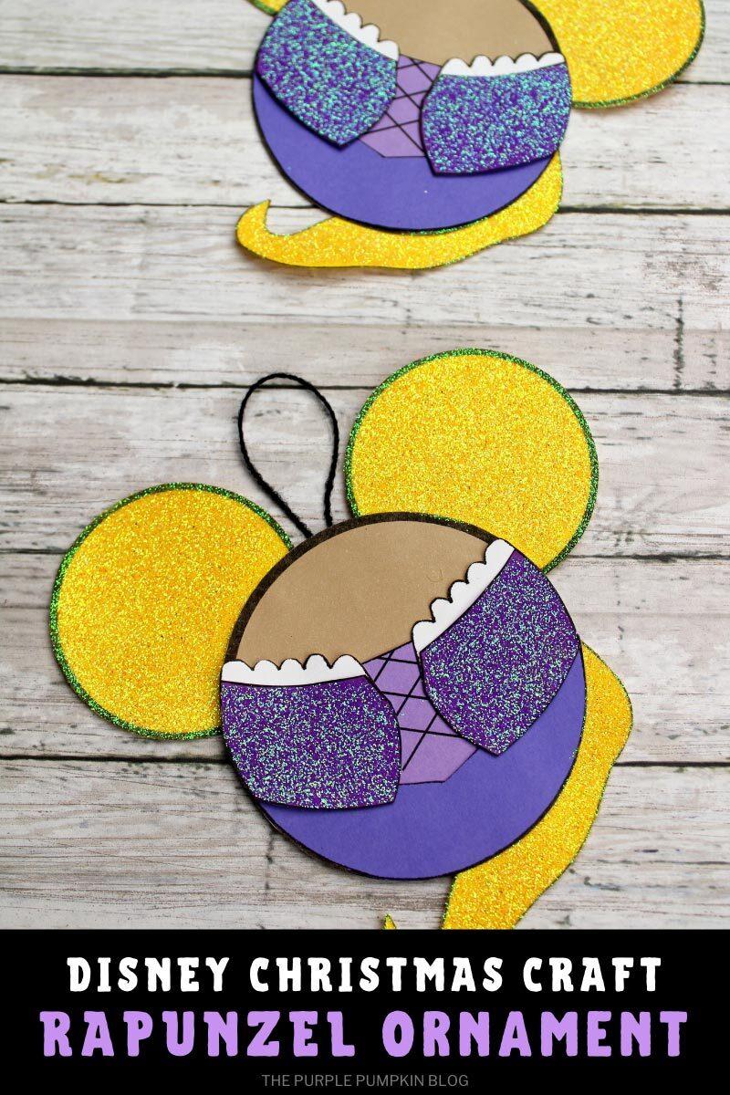 Disney Christmas Craft Rapunzel Ornament