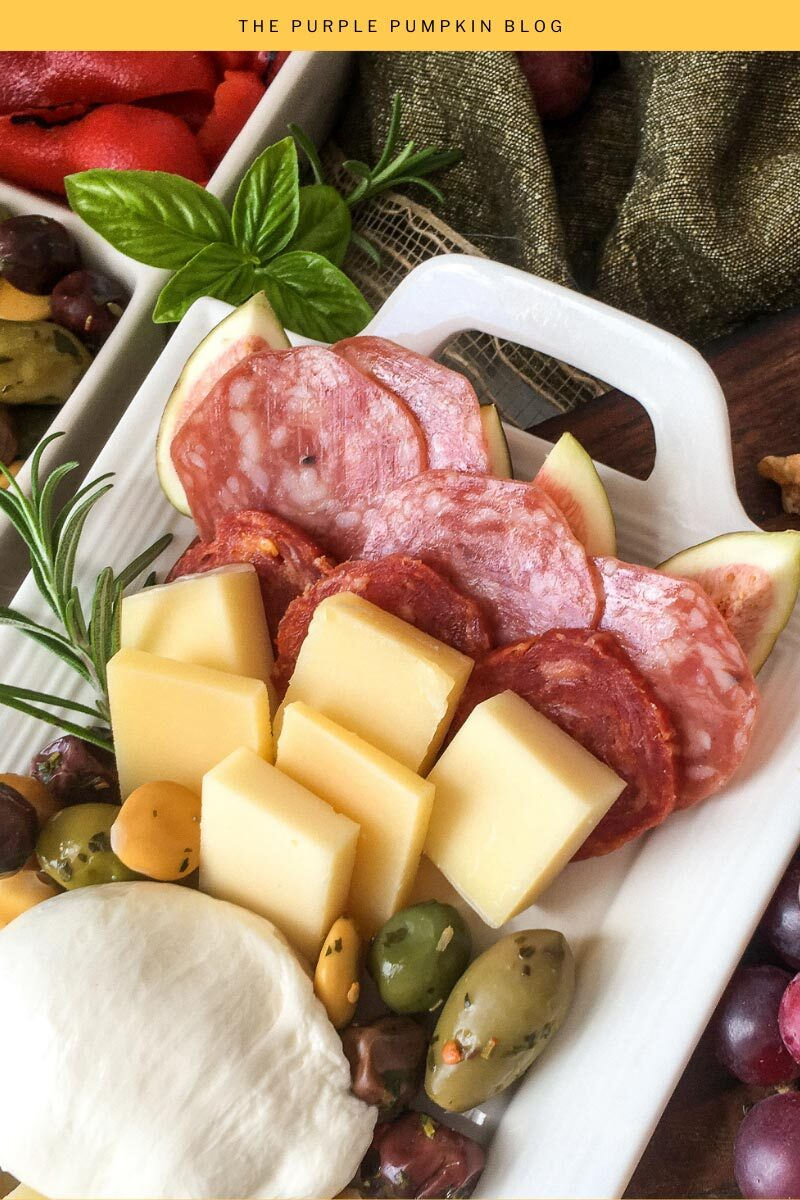 Easy Cheese Charcuterie Platter