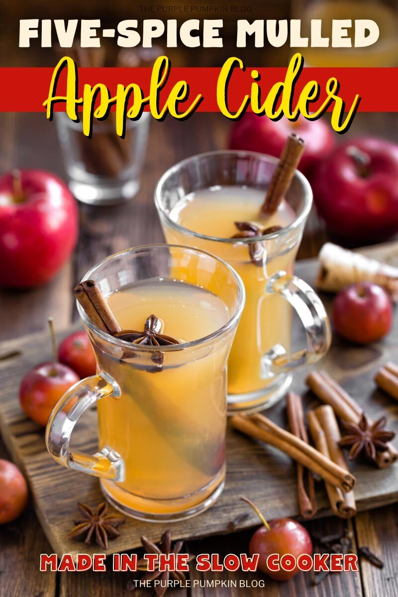 Five Spice Mulled Apple Cider