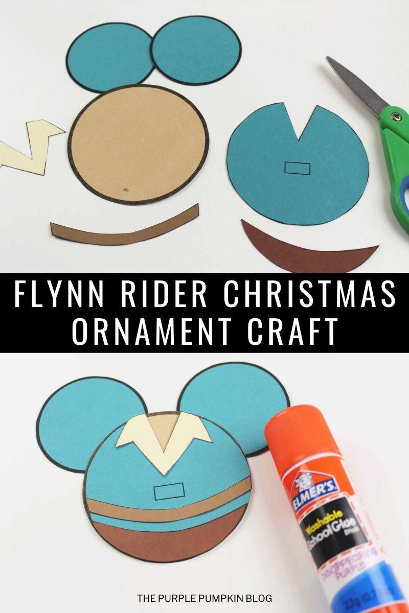 Flynn Rider Christmas Ornament Craft