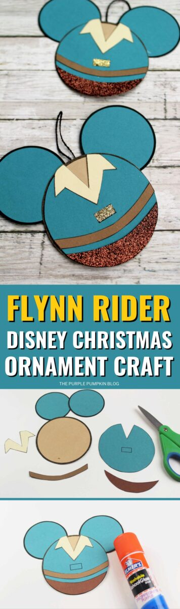 Flynn Rider Disney Christmas Ornament Craft