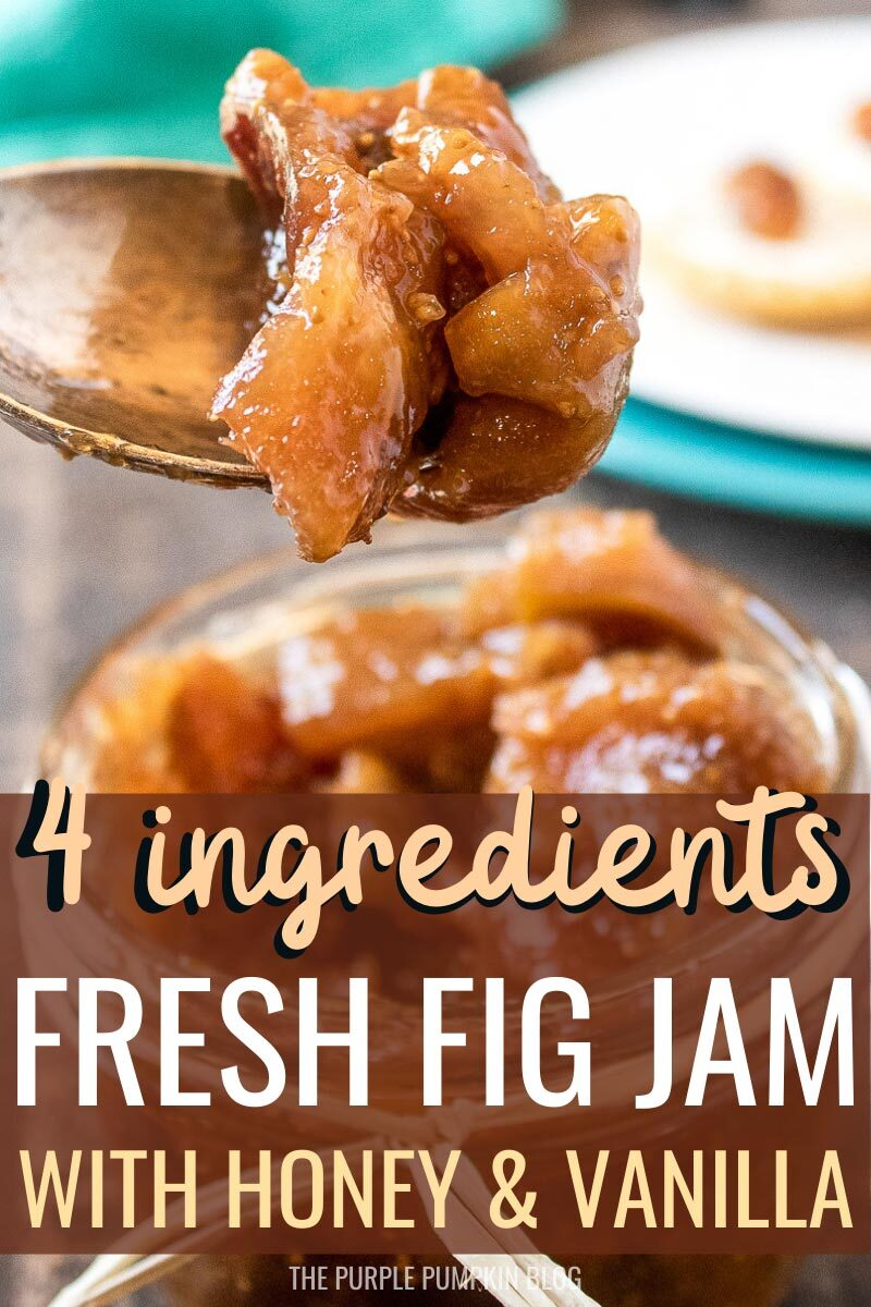 Fresh Fig Jam with Honey & Vanilla