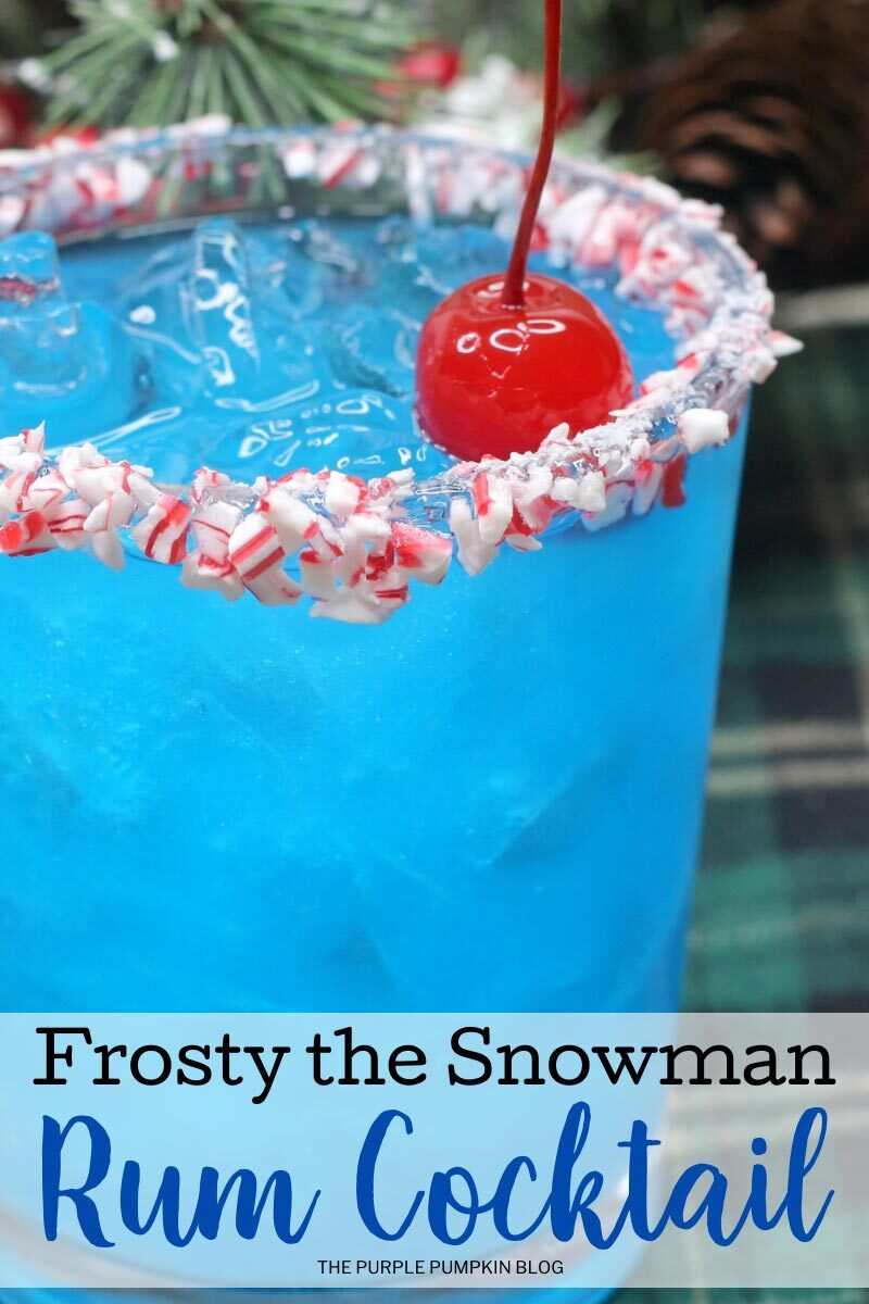 Frosty the Snowman Rum Cocktail