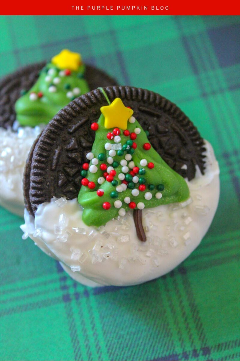 Fun To Make Christmas Tree Oreos