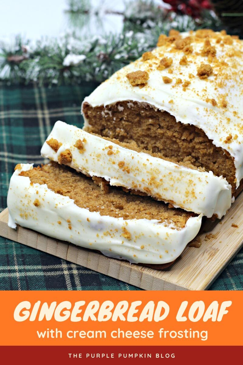 Gingerbread Loaf with Cream Cheese Frosting Recipe