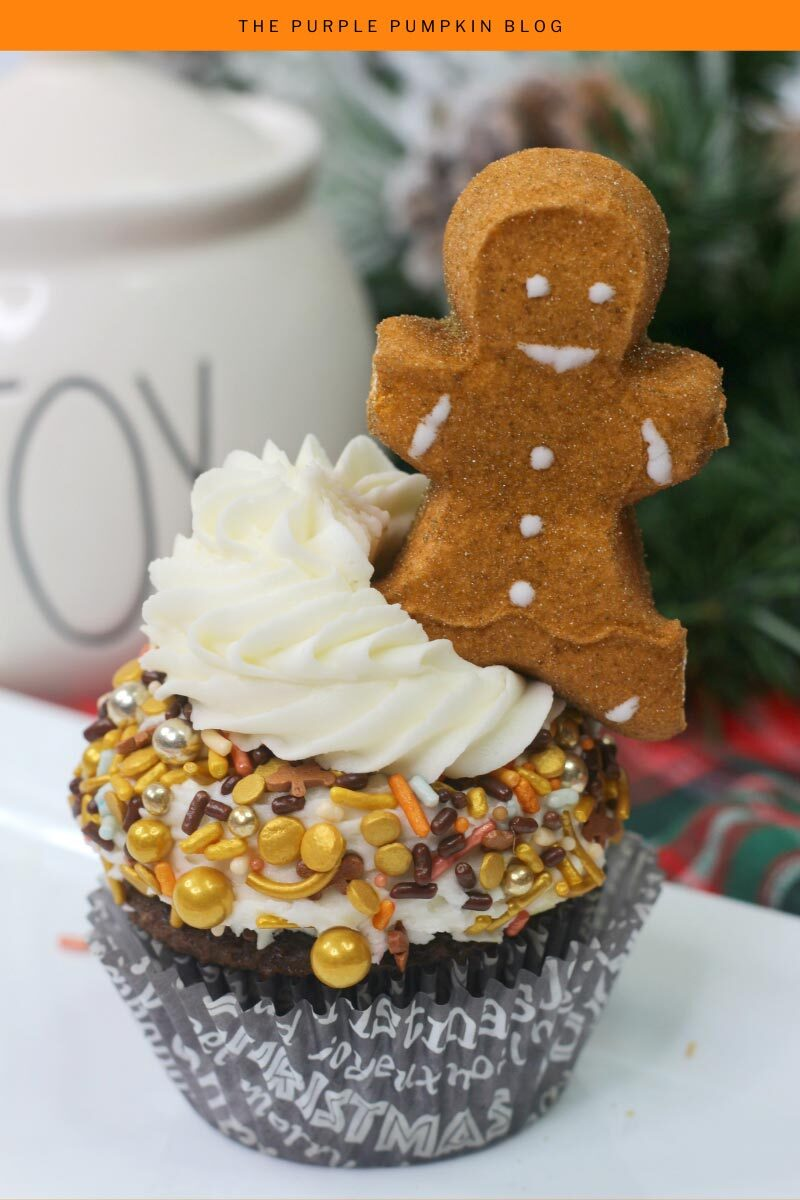 Gingerbread Man Cupcakes for the Holidays!