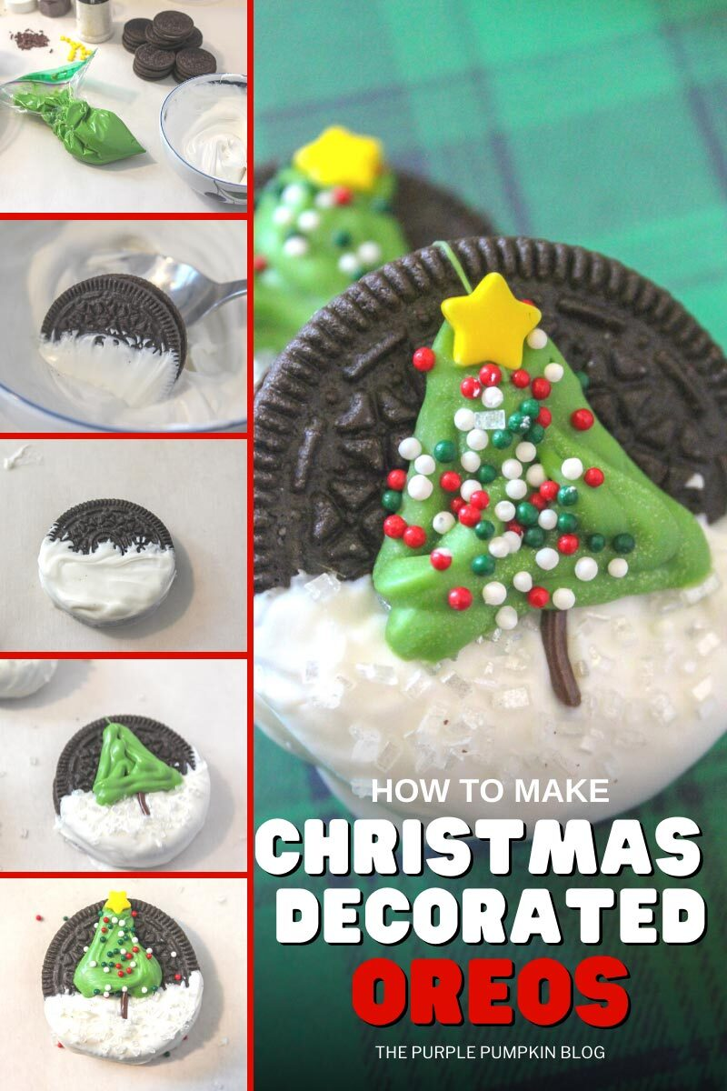 How To Make Christmas Decorated Oreos