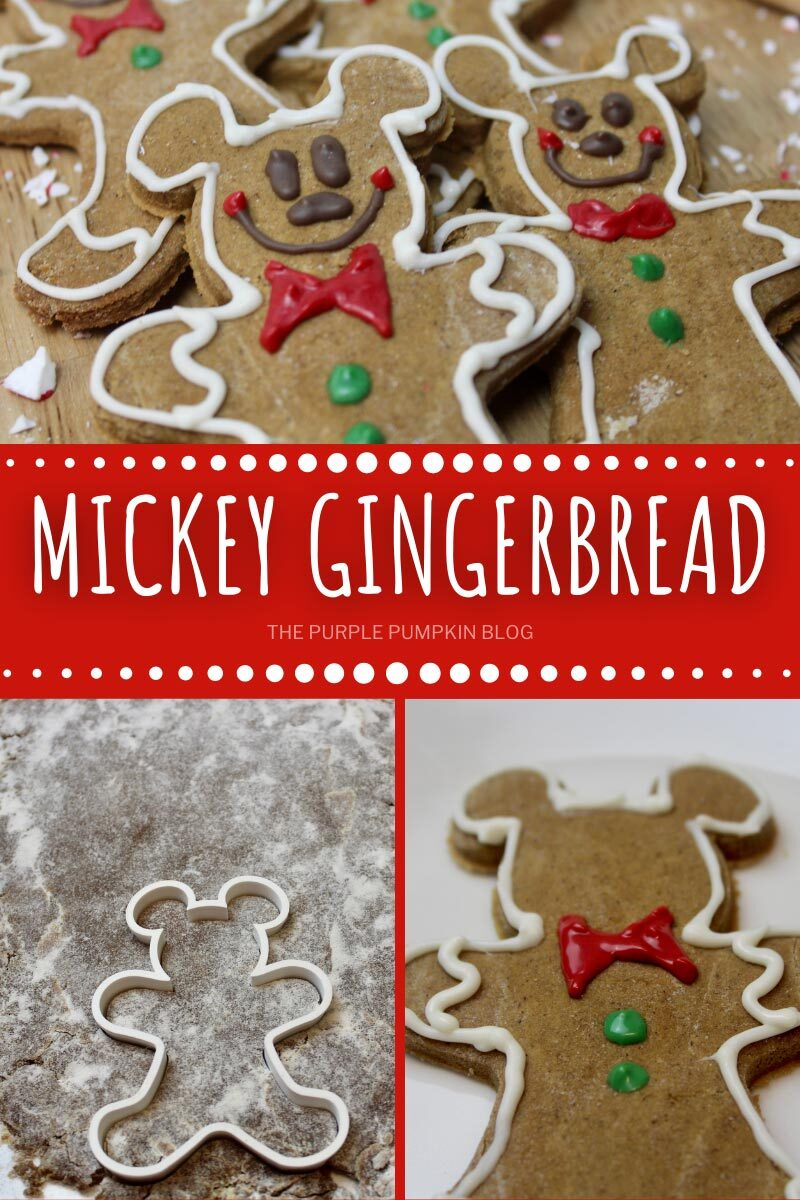 How To Make Mickey Mouse Gingerbread