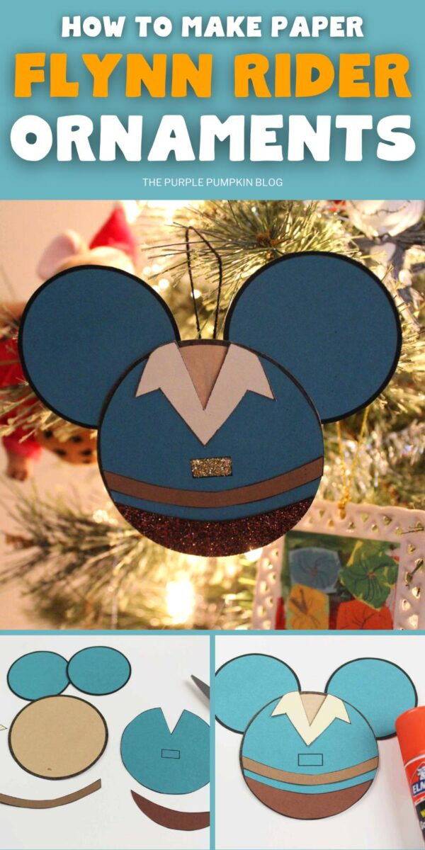 How To Make Paper Flynn Rider Ornaments