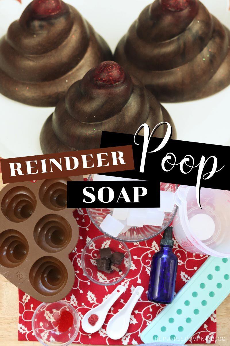 How to make Reindeer Poop Soap