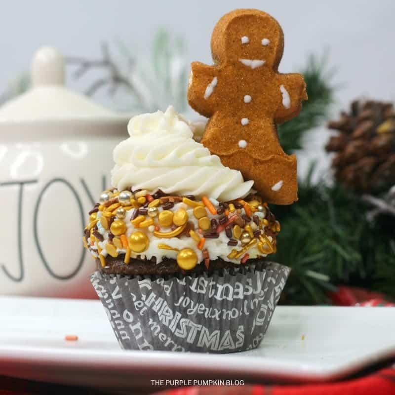 Cute Gingerbread Man Cupcakes Recipe