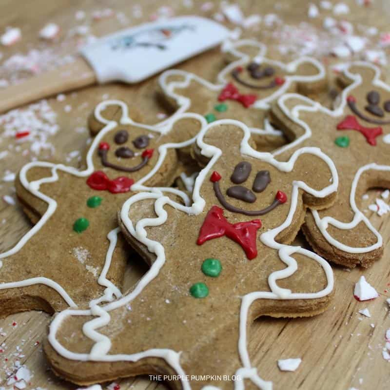 How To Make Gingerbread Mickey Mouse Cookies