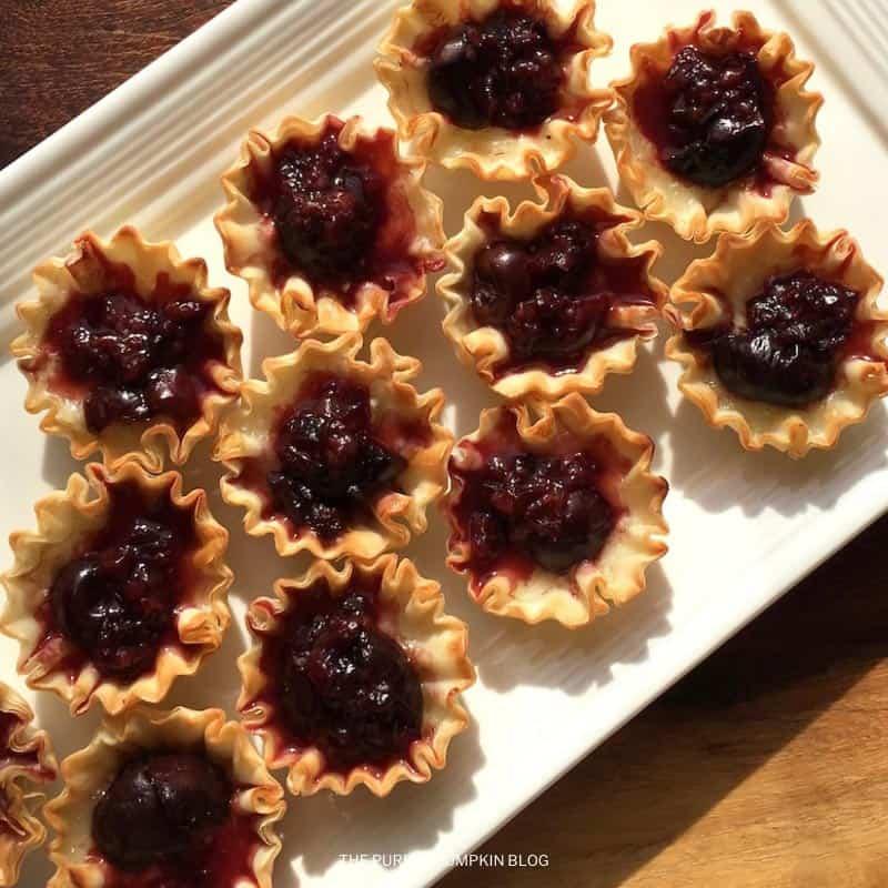 Brie & Dark Cherry Bites