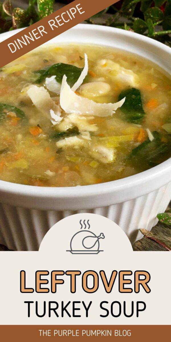 Leftover Turkey Soup Dinner Recipe