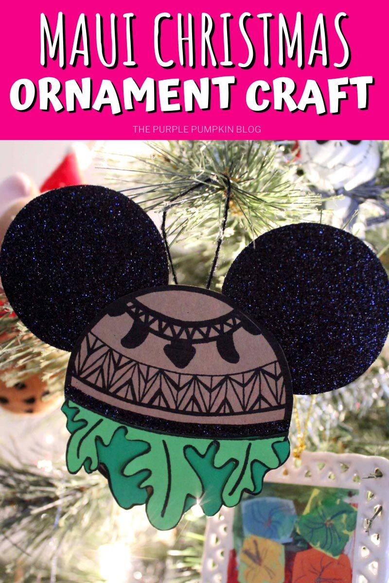 Maui Christmas Ornament Craft