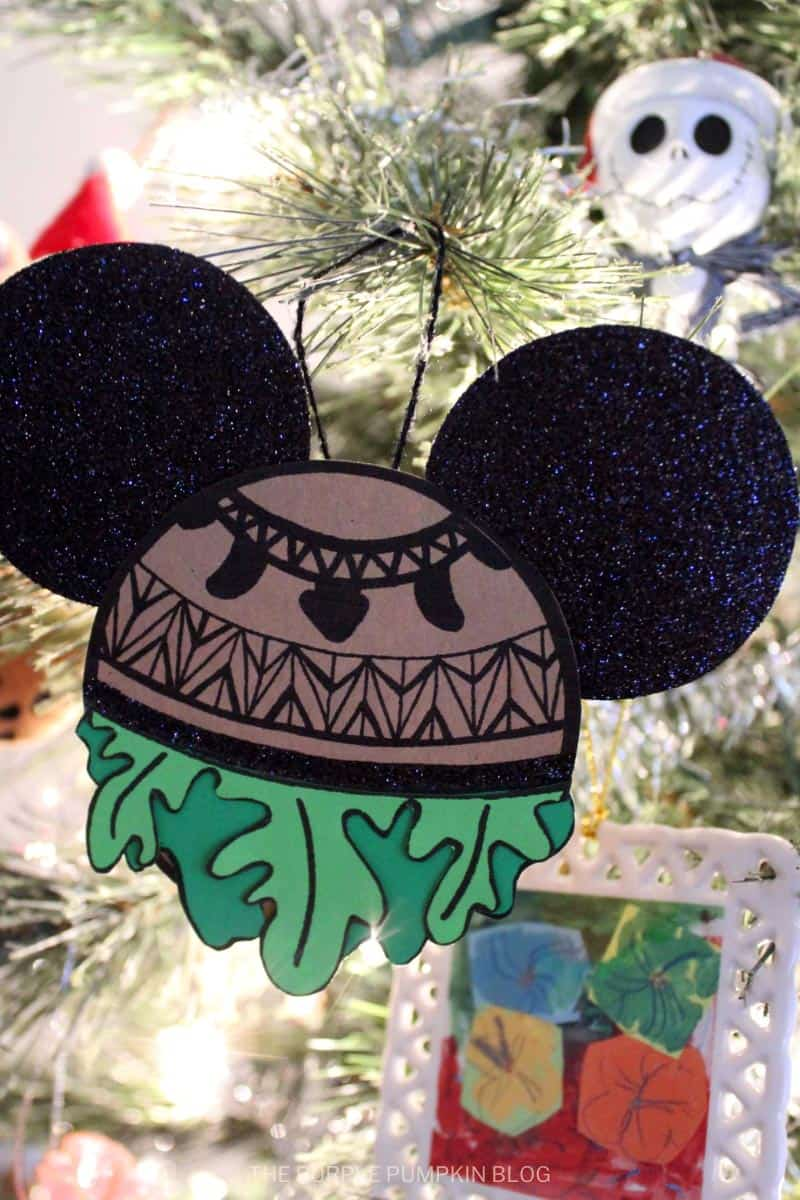 Maui Christmas Tree Ornament Craft