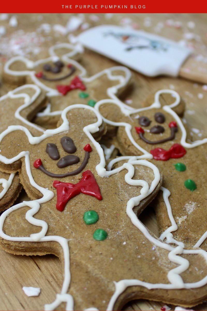 Mickey Gingerbread Recipe