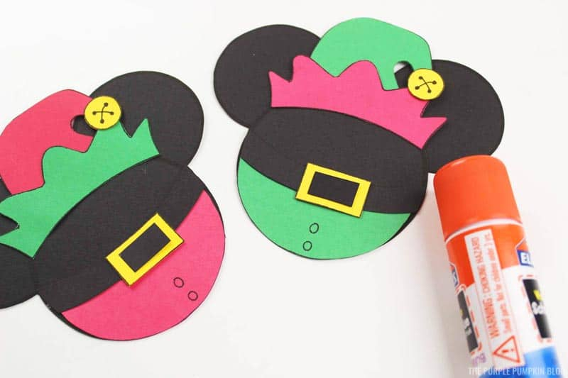 Mickey Mouse Elf Christmas Ornament Construction