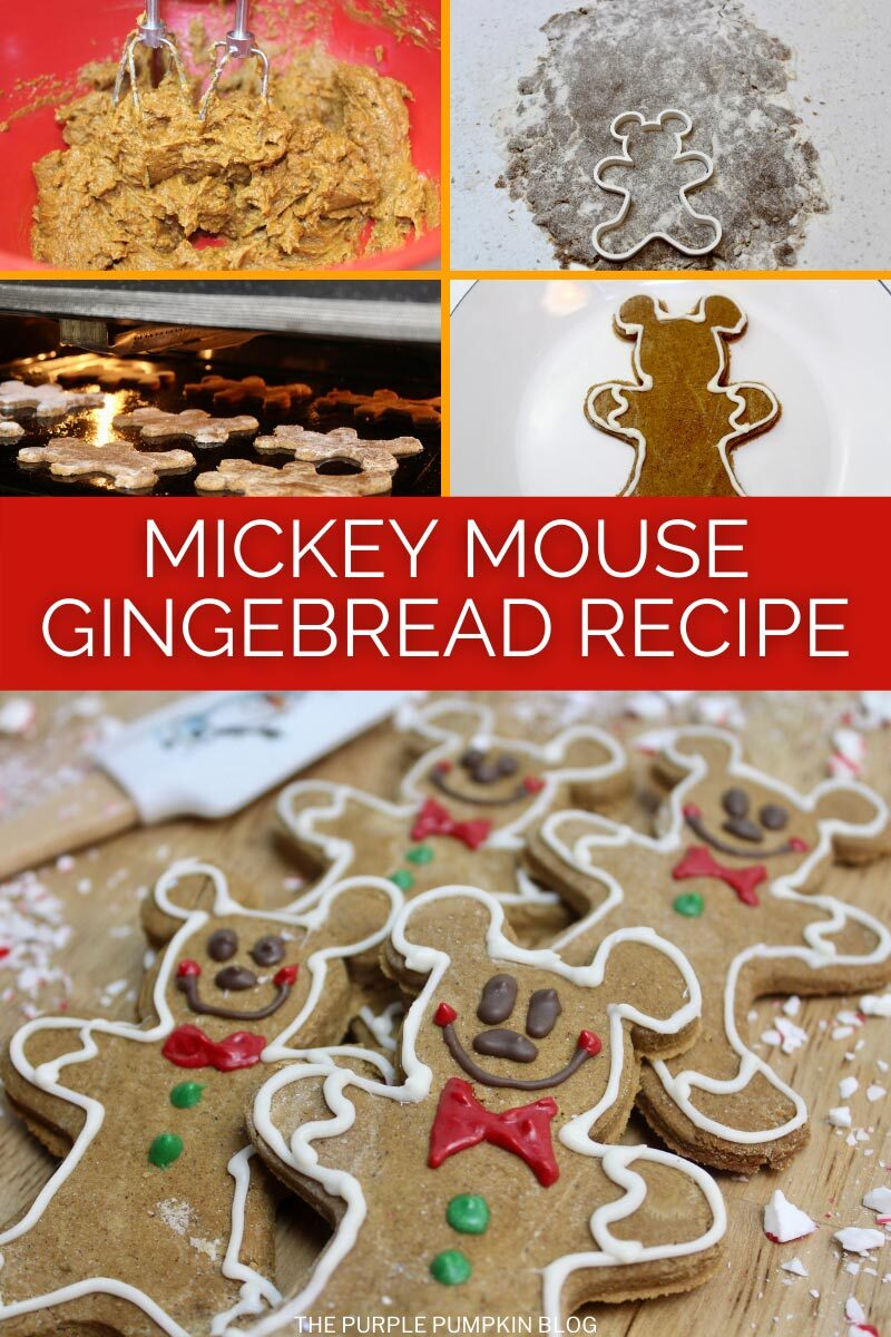 Mickey Mouse Gingerbread Recipe