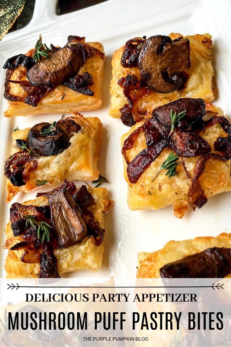 Mushroom Puff Pastry Bites - A Delicious Party Appetizer