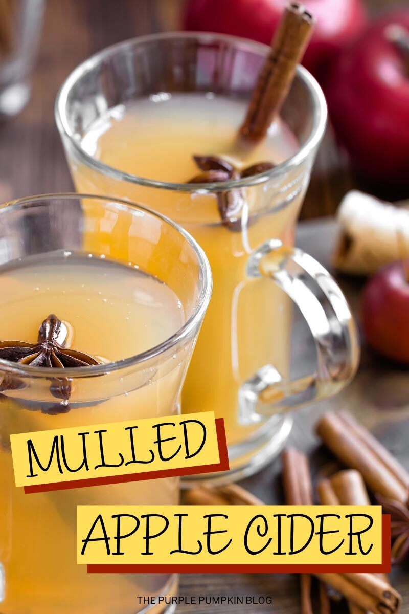 Mulled Apple Cider in the Crock Pot