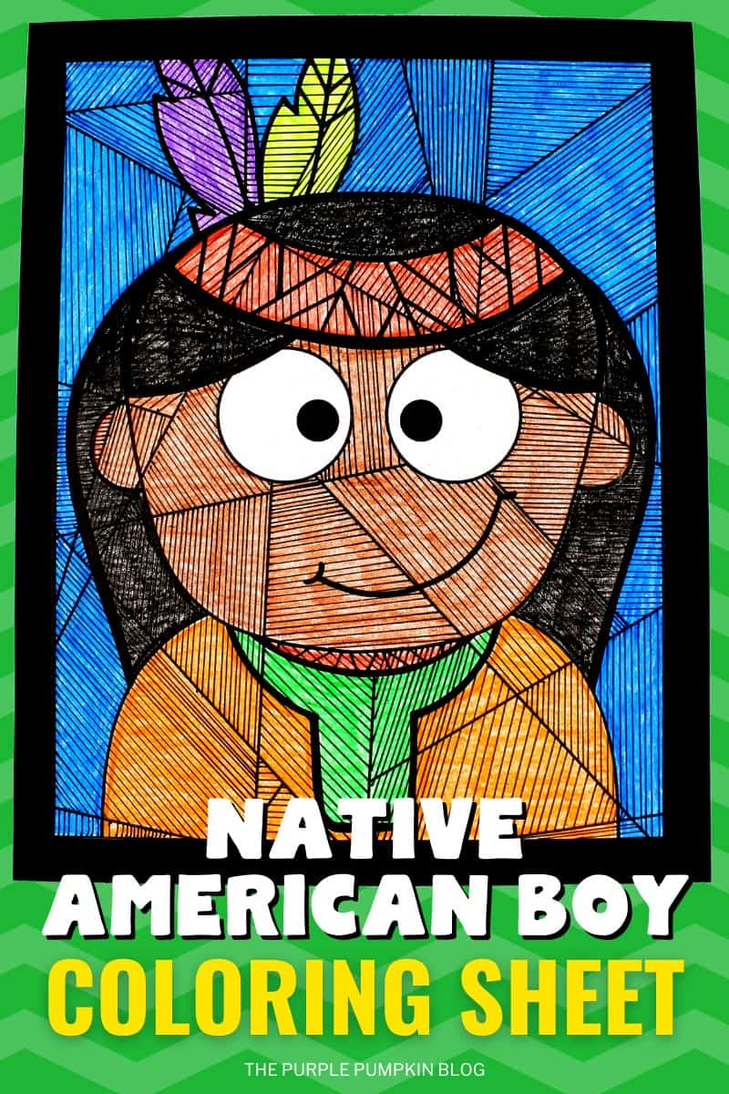 Native-American-Boy-Coloring-Sheet