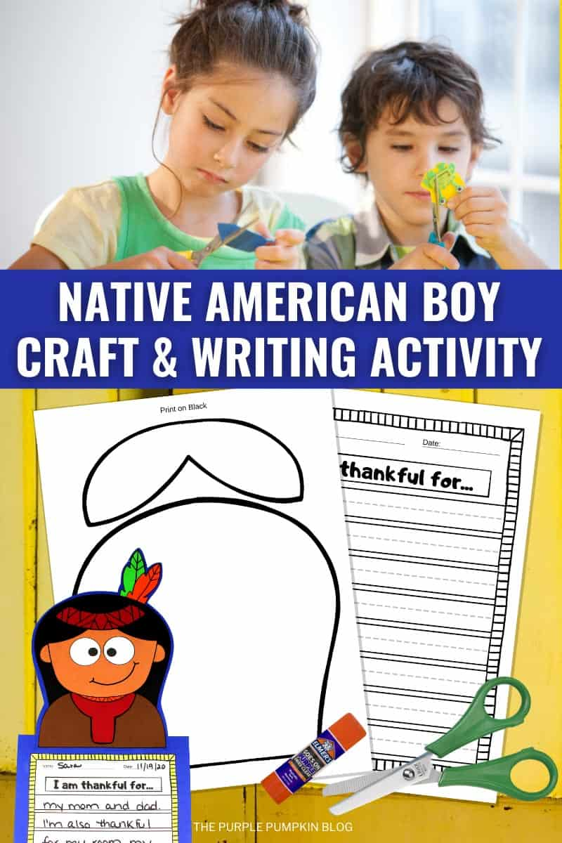 Native-American-Boy-Craft-Writing-Activity