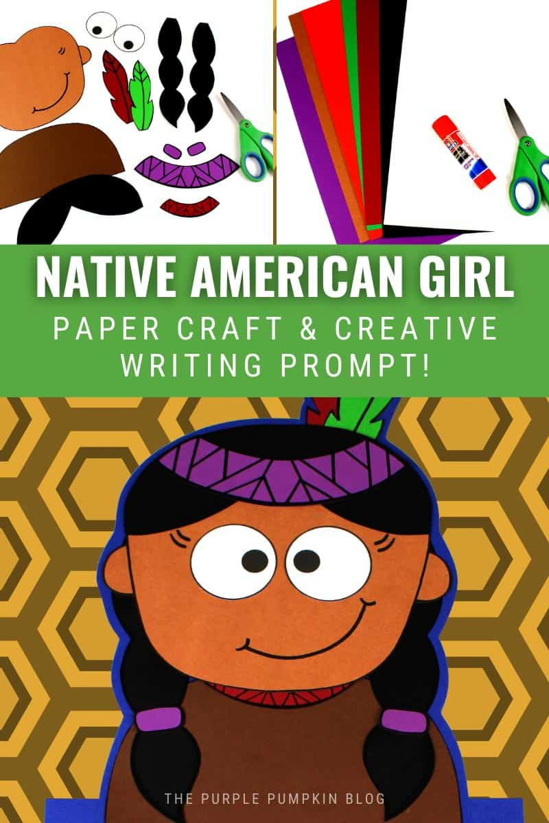 Native-American-Girl-Paper-Craft-Creative-Writing-Prompt