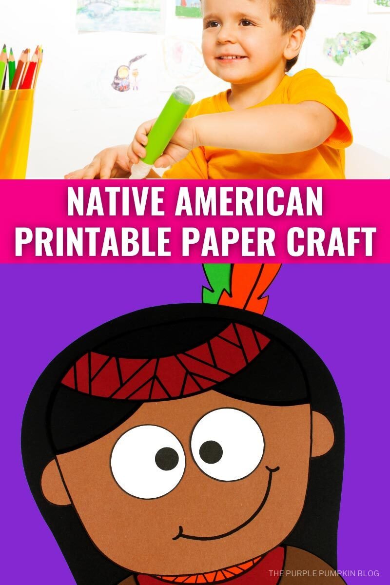 Native American Printable Paper Craft