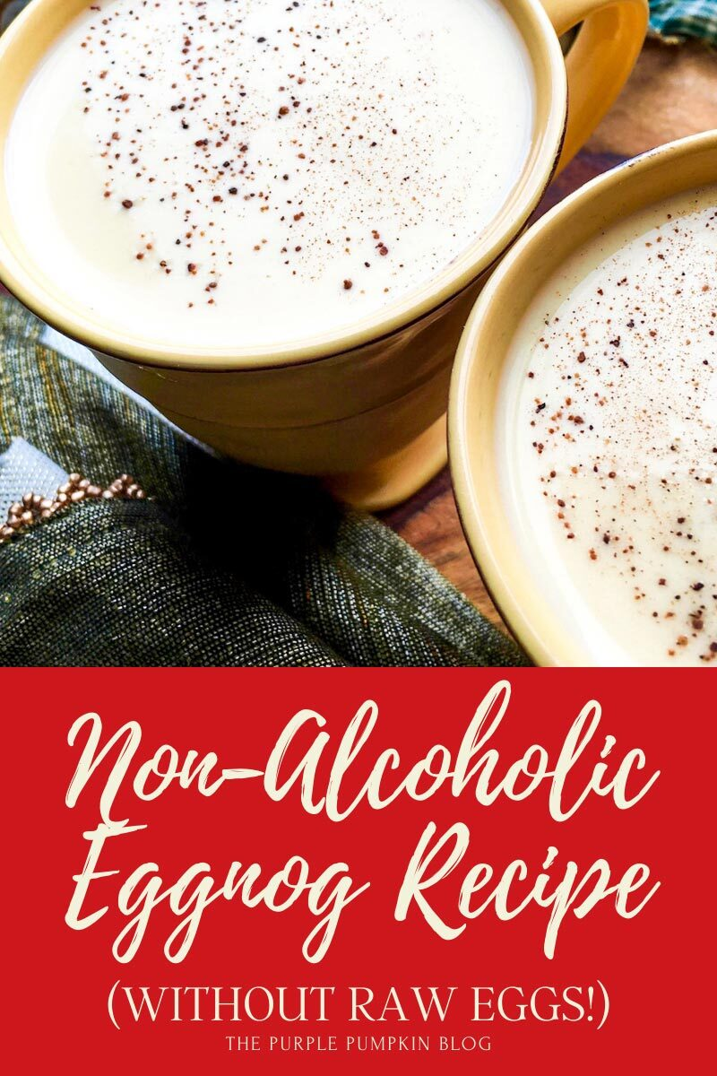 Non-Alcoholic Eggnog Recipe without Raw Eggs!