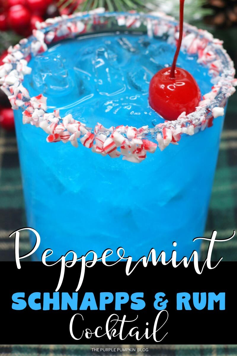 Peppermint Schnapps & Rum Cocktail