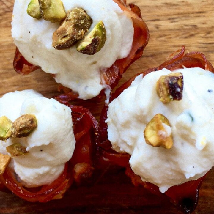 Prosciutto and Goat Cheese Appetizers
