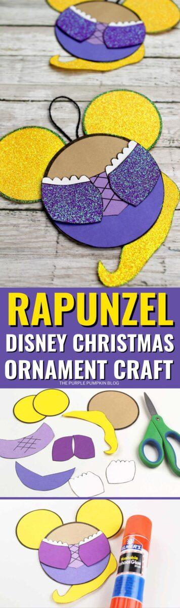 Rapunzel Disney Christmas Ornament Craft