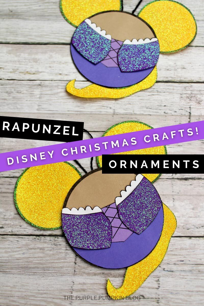 Rapunzel Ornaments - Disney Christmas Crafts!