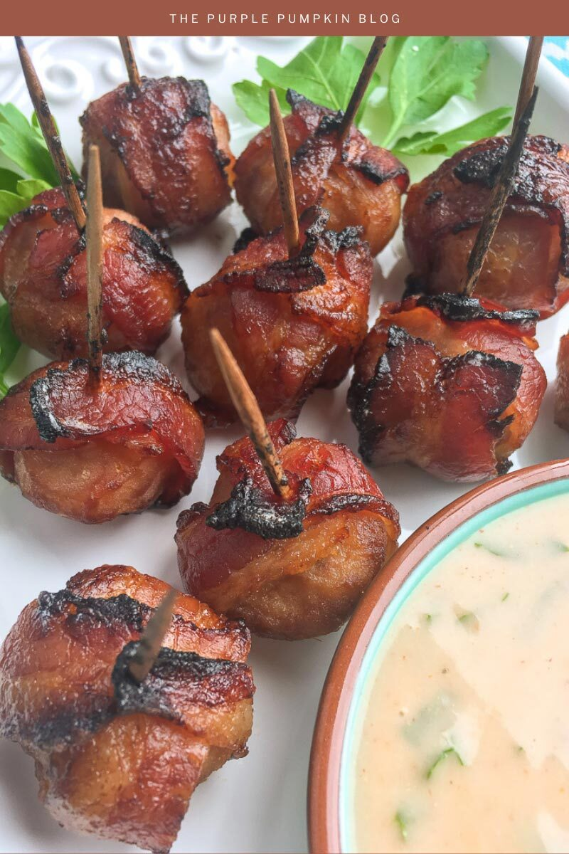 Recipe for Bacon-Wrapped Water Chestnuts