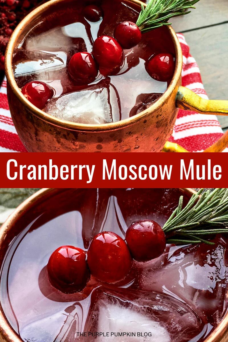 Recipe for Cranberry Moscow Mule