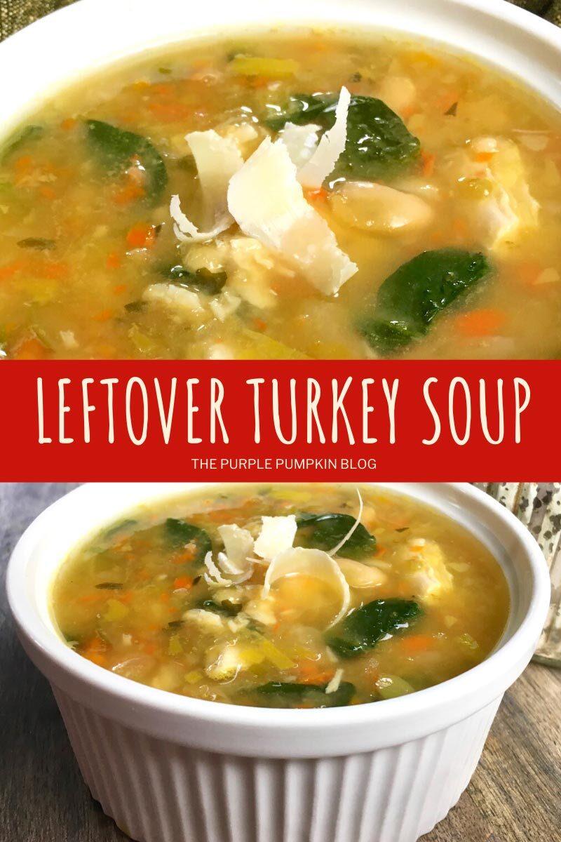 Recipe for Leftover Turkey Soup